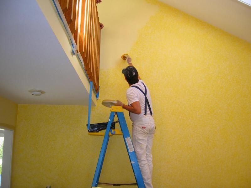 Cách sơn lại tường cũ đẹp như mới
