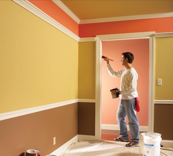 Thợ thi công sơn tường đẹp