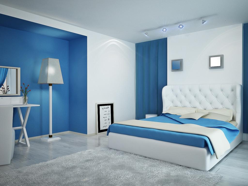 Màu sơn xanh nhạt mang lại cho ngôi nhà của bạn ấm cúng hơn