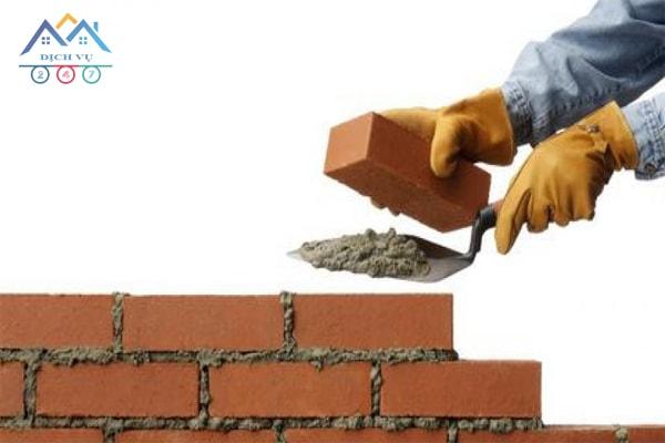 Đơn giá xây tường gạch